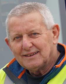 Driver Chris McHale